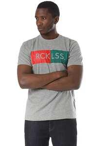 Young and Reckless Stamp - T-Shirt für Herren - Grau