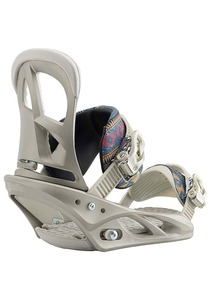 Burton Scribe - Snowboard Bindung für Damen - Grau