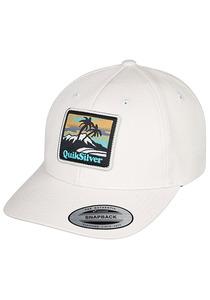 Quiksilver Starkness - Snapback Cap für Herren - Weiß