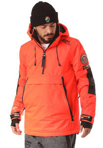 SUPERDRY SD Mountain Overhead - Skijacke für Herren - Orange