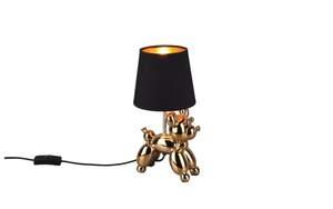 Globo Lighting - Tischleuchte Bello in schwarz/goldfarbig