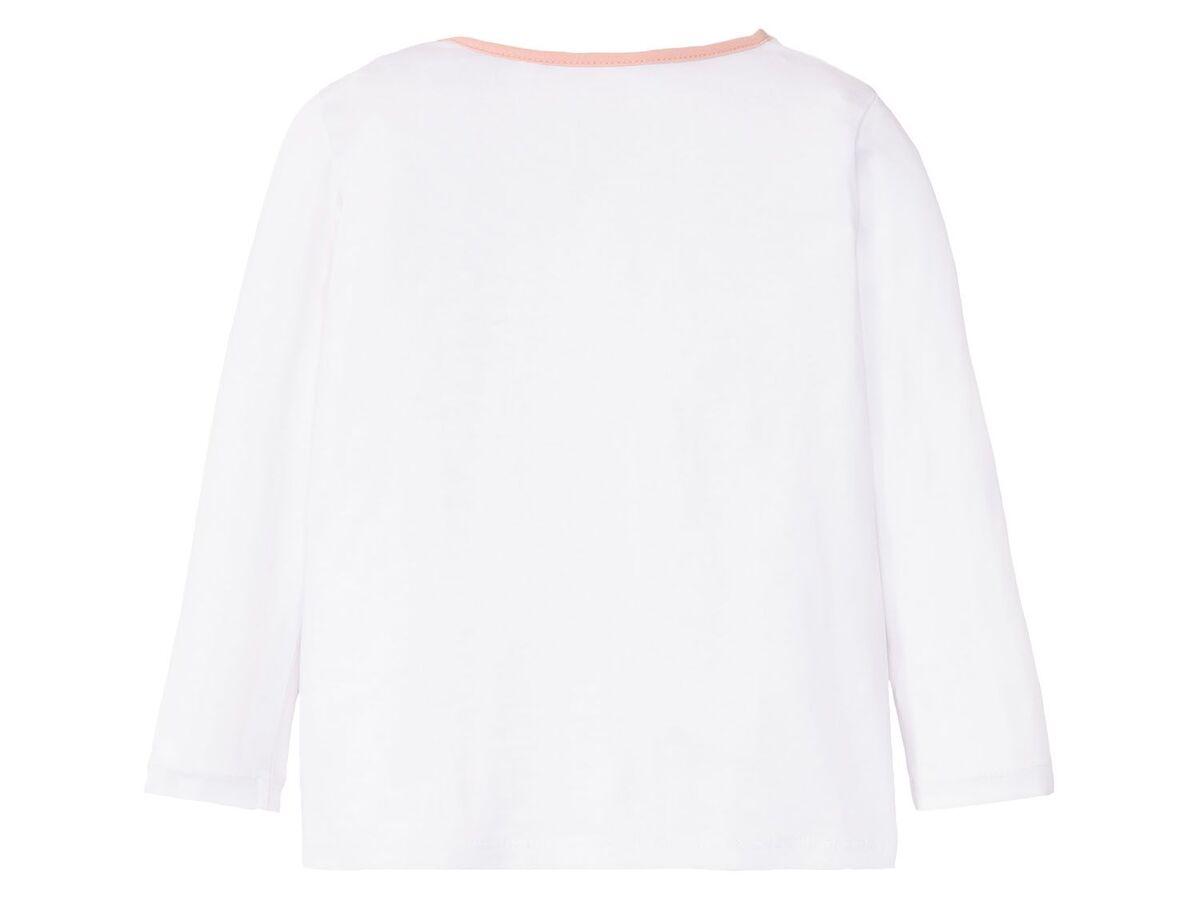 Bild 5 von LUPILU® Kleinkinder Pyjama Mädchen, mit Schleifenapplikation, mit Baumwolle