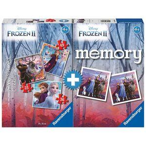 Ravensburger Puzzle + Memory Bundle Frozen