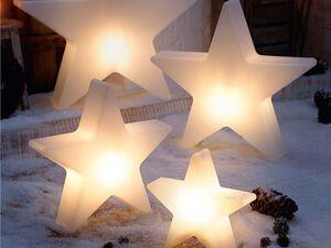 Pureday Leucht-Objekt Stern Shiny
