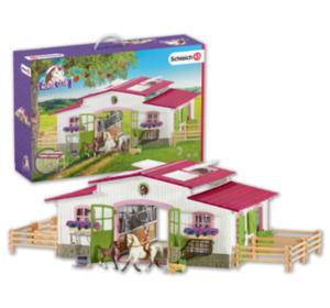SCHLEICH Reiterhof-Spiel-Set
