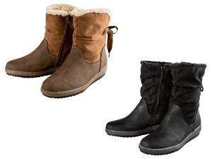 Footflexx Stiefel Damen, G-Weite, mit Innenpolsterung
