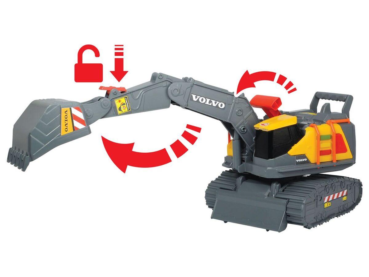 Bild 2 von DICKIE Spielzeugauto »Volvo Weight Lift Excavator«