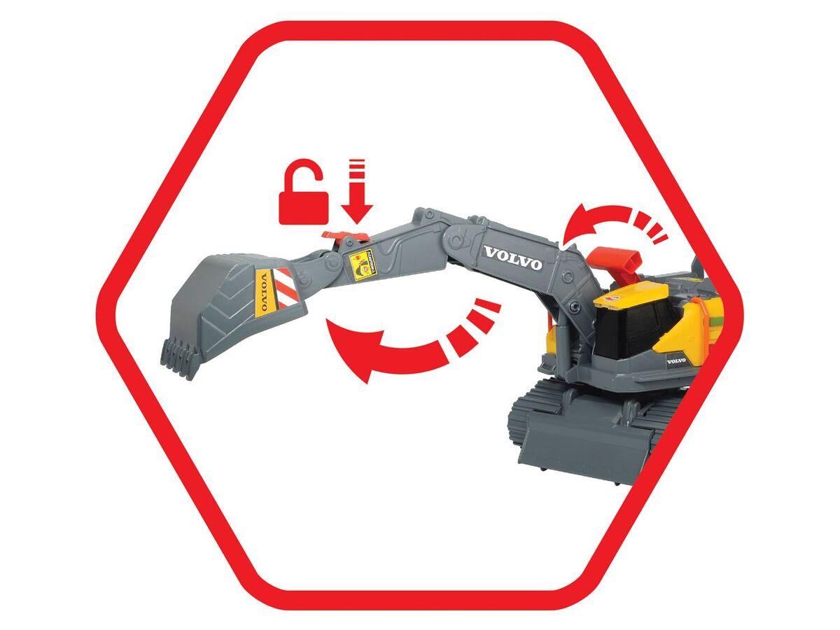 Bild 4 von DICKIE Spielzeugauto »Volvo Weight Lift Excavator«