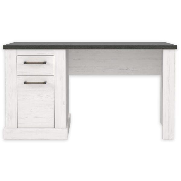 Schreibtisch Pinie Weiss Touchwood 138 Cm Von Roller Ansehen