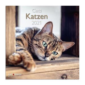 Kalender 2021 - Katzen - 30x30 cm
