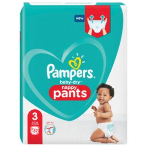 Pampers Windeln Baby Dry Pants Gr.3 6-11kg 37 Stück