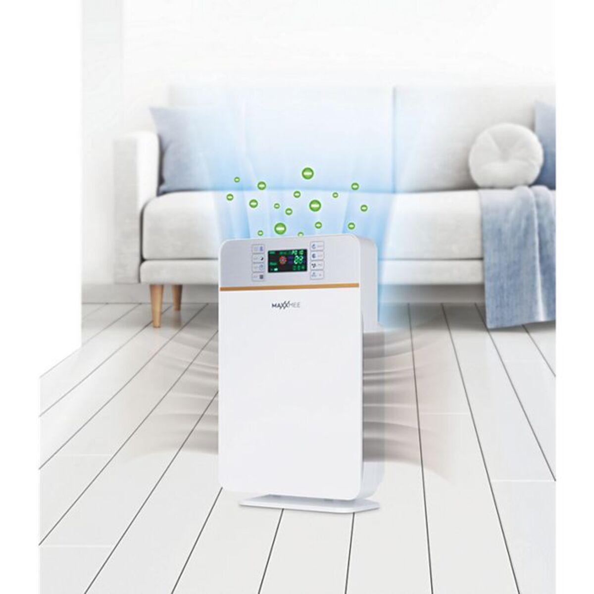 Bild 1 von MAXXMEE Luftreiniger Digital 50W weiß/silber