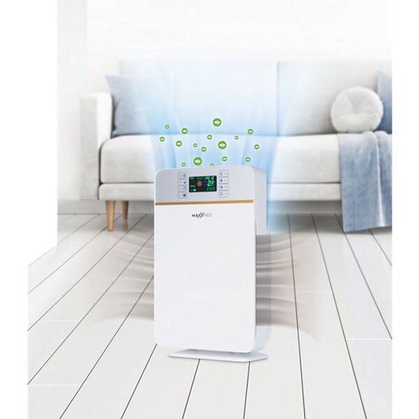 MAXXMEE Luftreiniger Digital 50W weiß/silber
