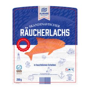 ALMARE     Skandinavischer Räucherlachs