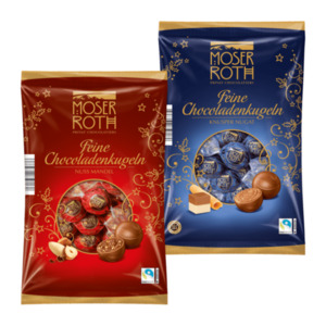 MOSER ROTH  	   				Feine Chocoladenkugeln, Fairtrade