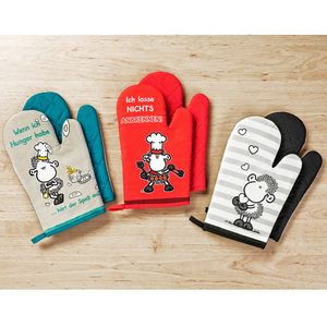 Sheepworld Ofenhandschuhe 2er-Set