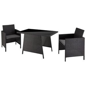 Balkon-Set Andalusia (1 Tisch, 2 Stühle)