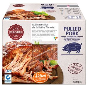 MEINE METZGEREI Barbecue Pulled Pork 550 g