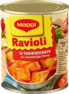 MAGGI  Ravioli oder Spaghetti