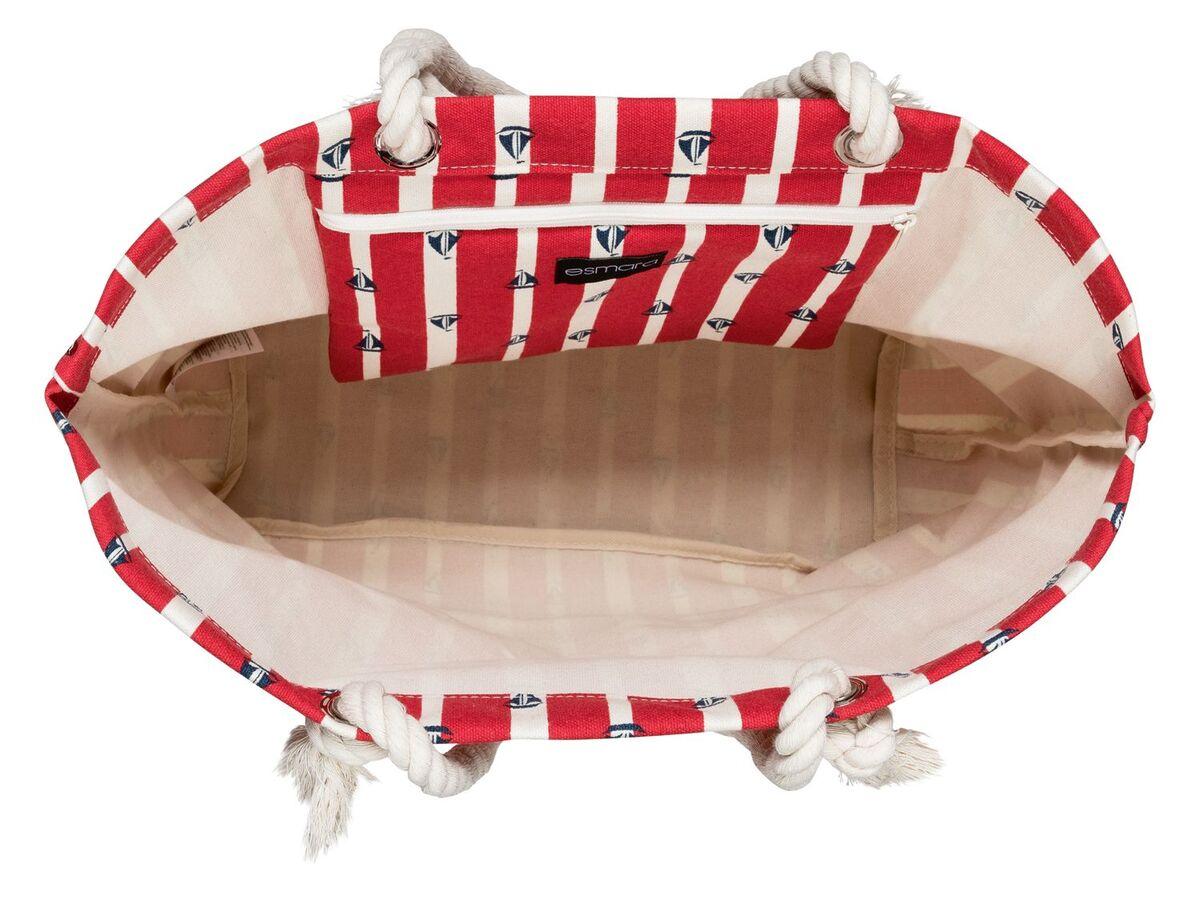 Bild 2 von ESMARA® Strandtasche/ Seesack, mit Reißverschluss, geräumiges Hauptfach, Innentasche