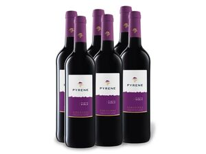 6 x 0,75-l-Flasche Weinpaket Pyrene Tinto Roble DO trocken, Rotwein