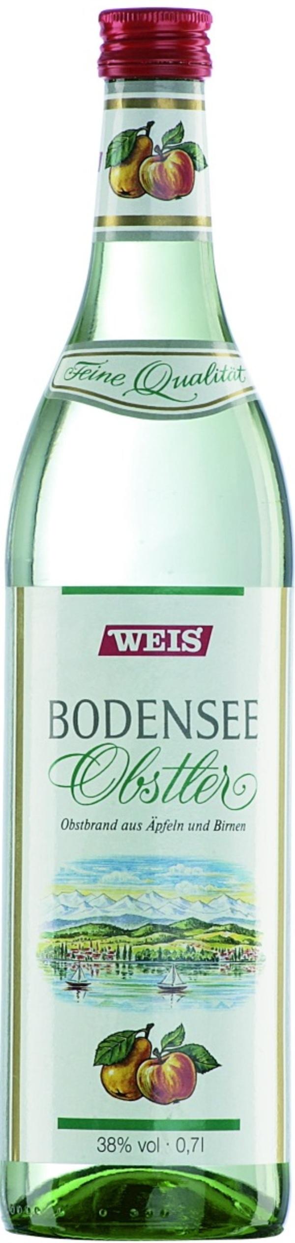 Weis Bodensee Obstler 0,7 ltr