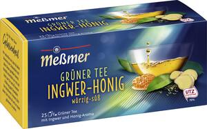 Meßmer Grüner Tee Ingwer-Honig 25x 1,75 g