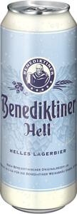 Benediktiner Hell 0,5 ltr Dose