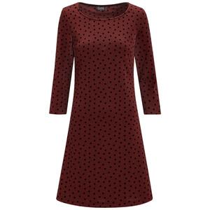 Damen Kleid mit Punkte-Allover