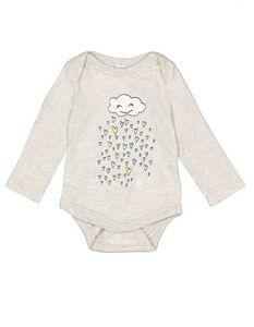 Newborn Body mit Print