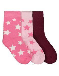 Mädchen Socken aus Frottee im 3er-Pack