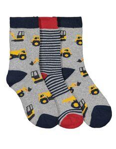 Jungen Socken aus Frottee im 3er-Pack