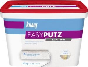 Knauf Easyputz ,  20 kg, 1,0 mm Körnung, schneeweiß