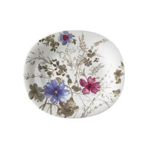 Villeroy & Boch Frühstücksteller keramik porzellan , 1041042648 , Multicolor , Blume , 19x23 cm , 003407020425