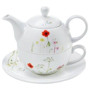 Novel Tea-for-one-set , Wildflower , Multicolor , Keramik , Blume , 0071360085