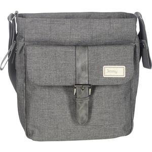 Jimmylee Wickeltasche buggy bag , Spl17-755-Lut01 , Grau , Textil , 29x34x12 cm , Struktur , 005073002402