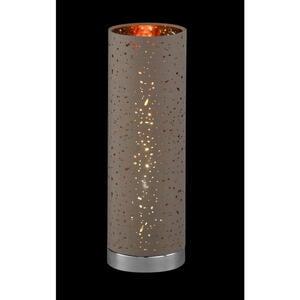 Xora Tischleuchte , 9808220 Thor *sb* , Cappuccino , Metall , 35 cm , Schnurschalter , 003151025105