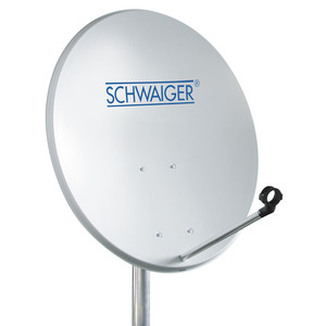 SAT-Stahlspiegel 55 x 62 cm