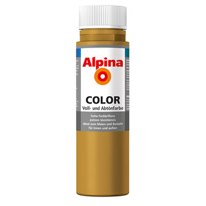 Alpina Color Voll- und Abtönfarbe 'Sahara Brown' seidenmatt 250 ml