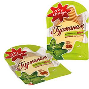 """Schmelzkäsezubereitung """"Gurman"""" in Scheiben 45% Fett i. Tr.,..."""