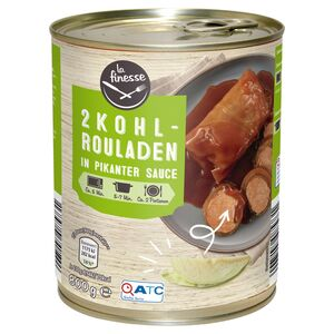 La Finesse Kohlrouladen in pikanter Sauce 800 g