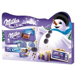 Milka & OREO Weihnachtsgeschenkbox 182 g