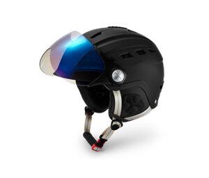 Hardshell-Ski- und Snowboard-Helm mit Visier