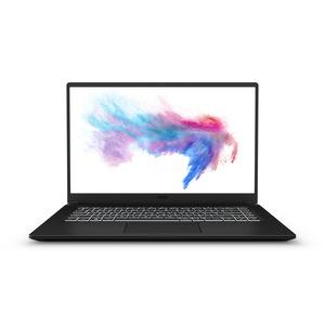 MSI MODERN 15 A10M-028 Notebook mit Core™ i7, 8 GB RAM, 512 GB & Intel® UHD-Grafik in Onyx Schwarz