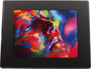 ROLLEI Pissarro DPF-120 Digitaler Bilderrahmen, Schwarz