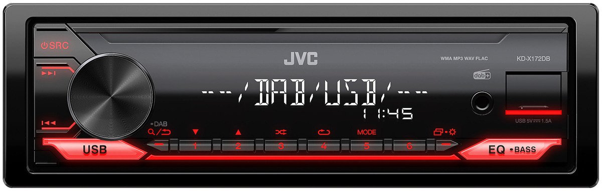 Bild 1 von JVC KD-X172DB Autoradio