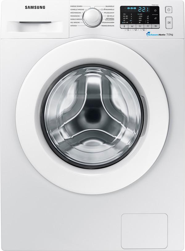 SAMSUNG WW70J5585MW Waschmaschine mit 1400 U/Min. in Weiß