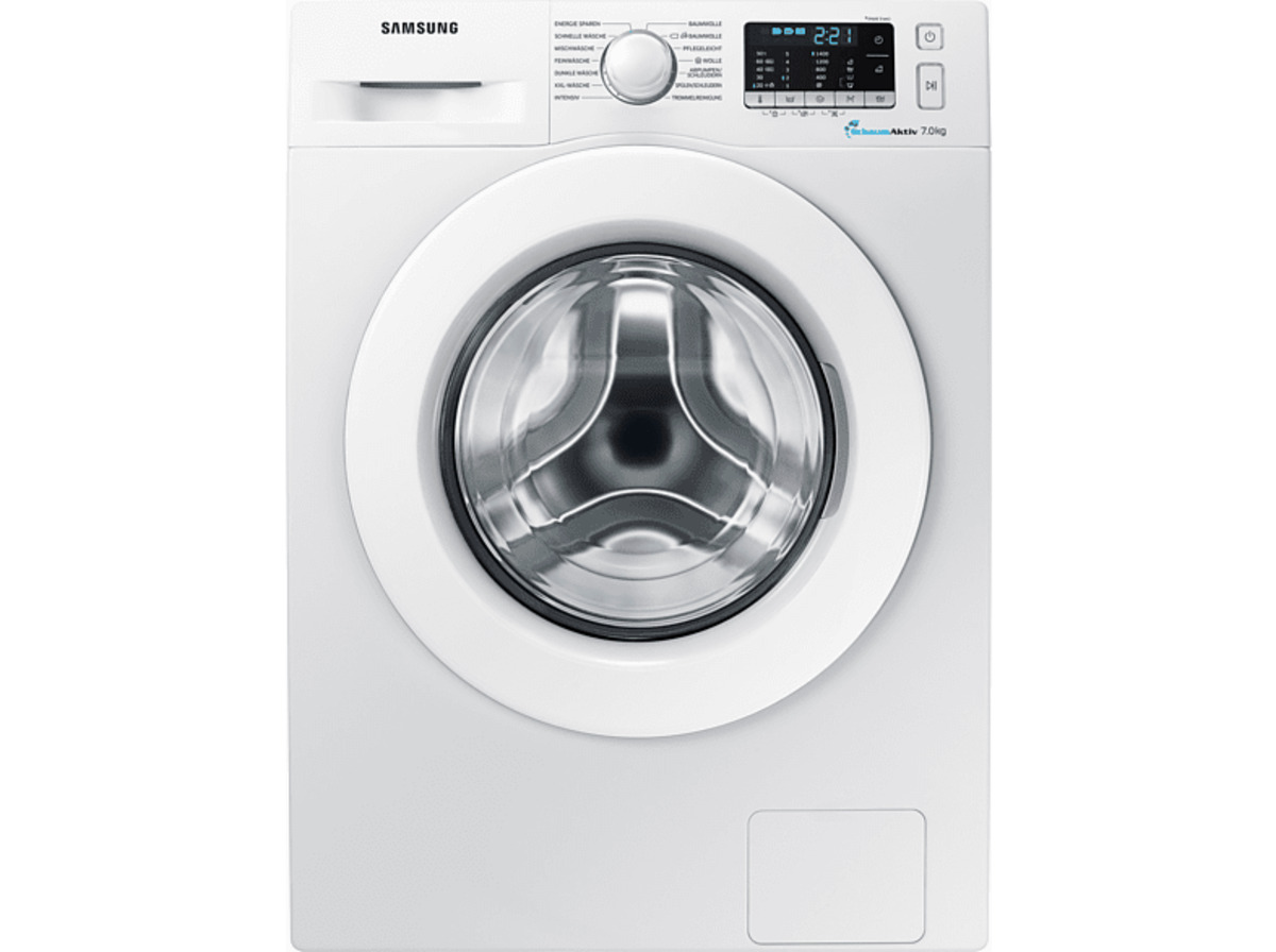 Bild 2 von SAMSUNG WW70J5585MW Waschmaschine mit 1400 U/Min. in Weiß