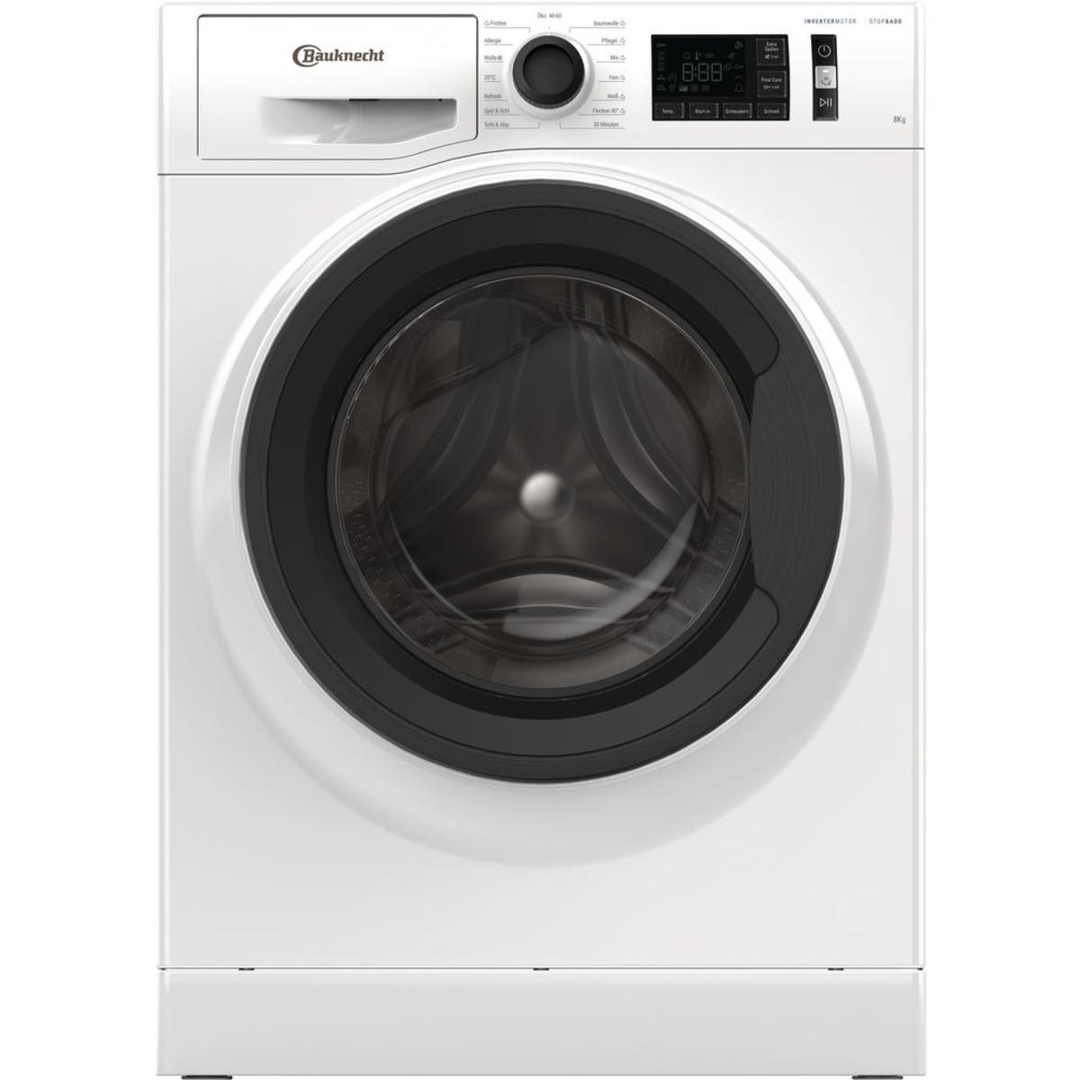 Bild 1 von BAUKNECHT WM ELITE 811 C Waschmaschine mit 1400 U/Min. in Weiß