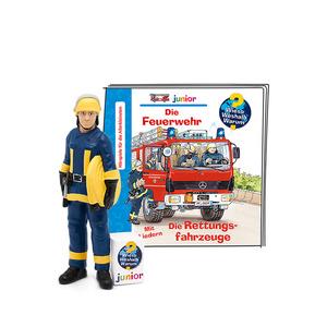 BOXINE Tonie-Figur: Wieso? Weshalb? Warum? junior - Die Feuerwehr/Die Rettungsfahrzeuge Hörfigur